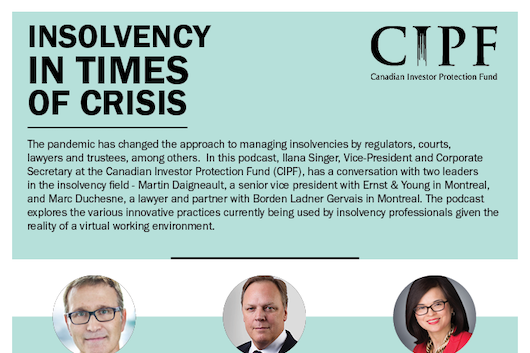 Insolvency in Times of Crisis